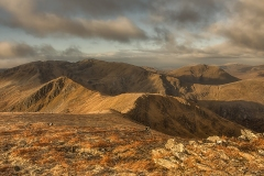 004. Looking west to Carn Eighe, Glen Affric