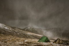 183. Wild camping on An Riabhachan in May