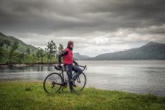 461.  Cycling The Trossachs at Loch Katrine