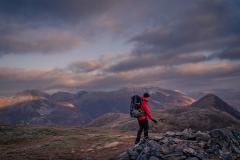 511. Peter and I on the summit of Corbett Mam na Gualainn