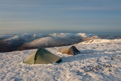 644. Wild camping on An Riabhachan in May