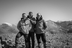 659. Kevin, Rab and Peter on Stob Ban.