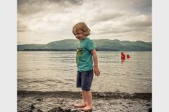 454. Paddle in Loch Lomond