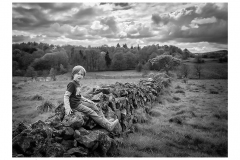 611.   Darnley Country Park (black and white)
