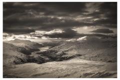 177.  Loch Lomond from Ben Dubhcraig