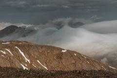 081. The peaks of Glencoe from Stob Dearg,Buchaille Etive Mor