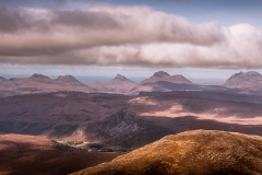 188. Inverpolly Mountains from Seana Bhraigh