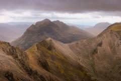 237. The summit ridge of Beinn Eighe and Liathah, Torridon