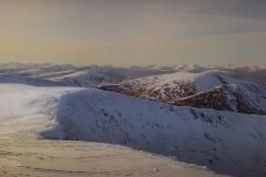 281. Meall na Teanga Summit looking south