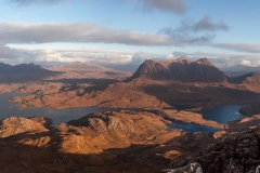 320. Suilven and Cul Mor from Stac Pollaidh, Inverpolly
