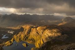 328. The Torridon Mountains from Maol Chean-dearg